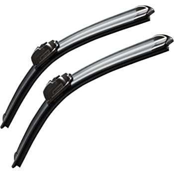 "MOTIUM OEM QUALITY 22"" + 22"" Premium All-Season Windshield Wiper Blades (Set of 2)"