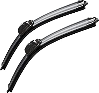 Online Automotive FWBVWPAS19D 2022 Front Aero//Flat Windscreen Wiper Blades Set of 2