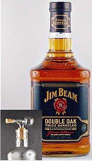 Jim Beam Double Oak Bourbon Whiskey  1 Glaskugelportionierer