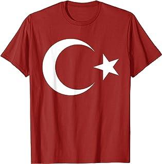 Turkey Flag TShirt Cool Turkish Turkiye Flags Top Tee T-Shirt