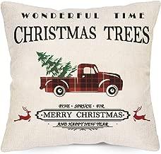 Best black merry christmas pillow Reviews