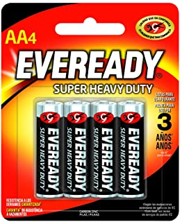 Pilha Pequena AA, Energizer