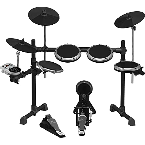 Behringer XD8USB 8-Piece Electronic Drum Set (Black)