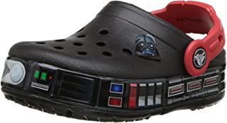 Crocs Kids' Boys and Girls Crocband Star Wars Darth Vader Light Up Clog