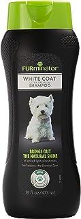 FURminator Ultra Premium White Coat Shampoo For Dogs 473ml