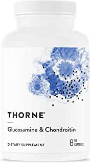 Thorne Research - Glucosamine & Chondroitin - Support to Maintain Healthy Joint Function and Mobility - 90 Capsules