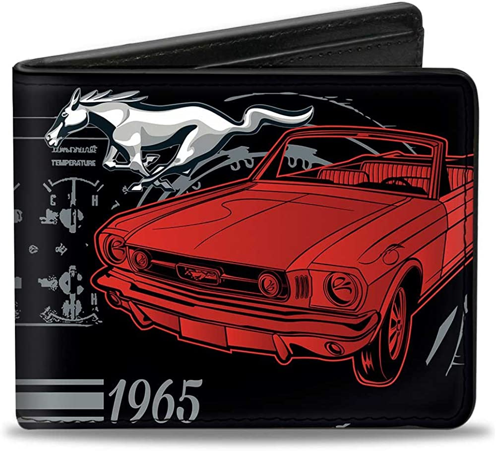 Buckle-Down Bifold Large special price Wallet Mustang Mesa Mall