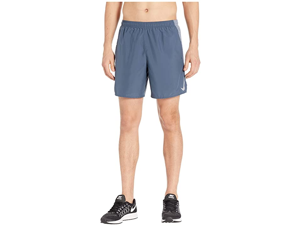 Nike Challenger Shorts 7 BF (Monsoon Blue/Armory Blue/Reflective Silver) Men