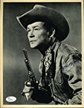 ROY ROGERS SIGNED JSA CERTIFIED 8X10 PHOTO AUTHENTICATED AUTOGRAPH