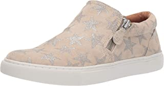 Gentle Souls Womens Lowe Double Zip Sneaker