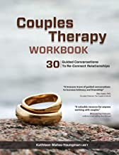Couples Therapy Workbook: 30 Guided Conversations to Re-Connect Relationships