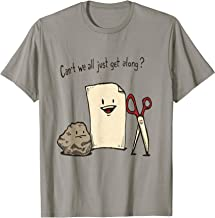 Can't We All Just Get Along? Rock Paper Scissors Tee