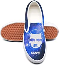 Mens Kanye-West-Albums- Canvas sneakers Comfortable flat cheap skate shoes