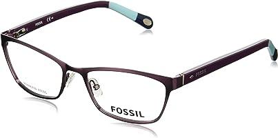 نظارة طبية بعدسات مستطيلة للنساء من فوسيل 6002 - ارجواني