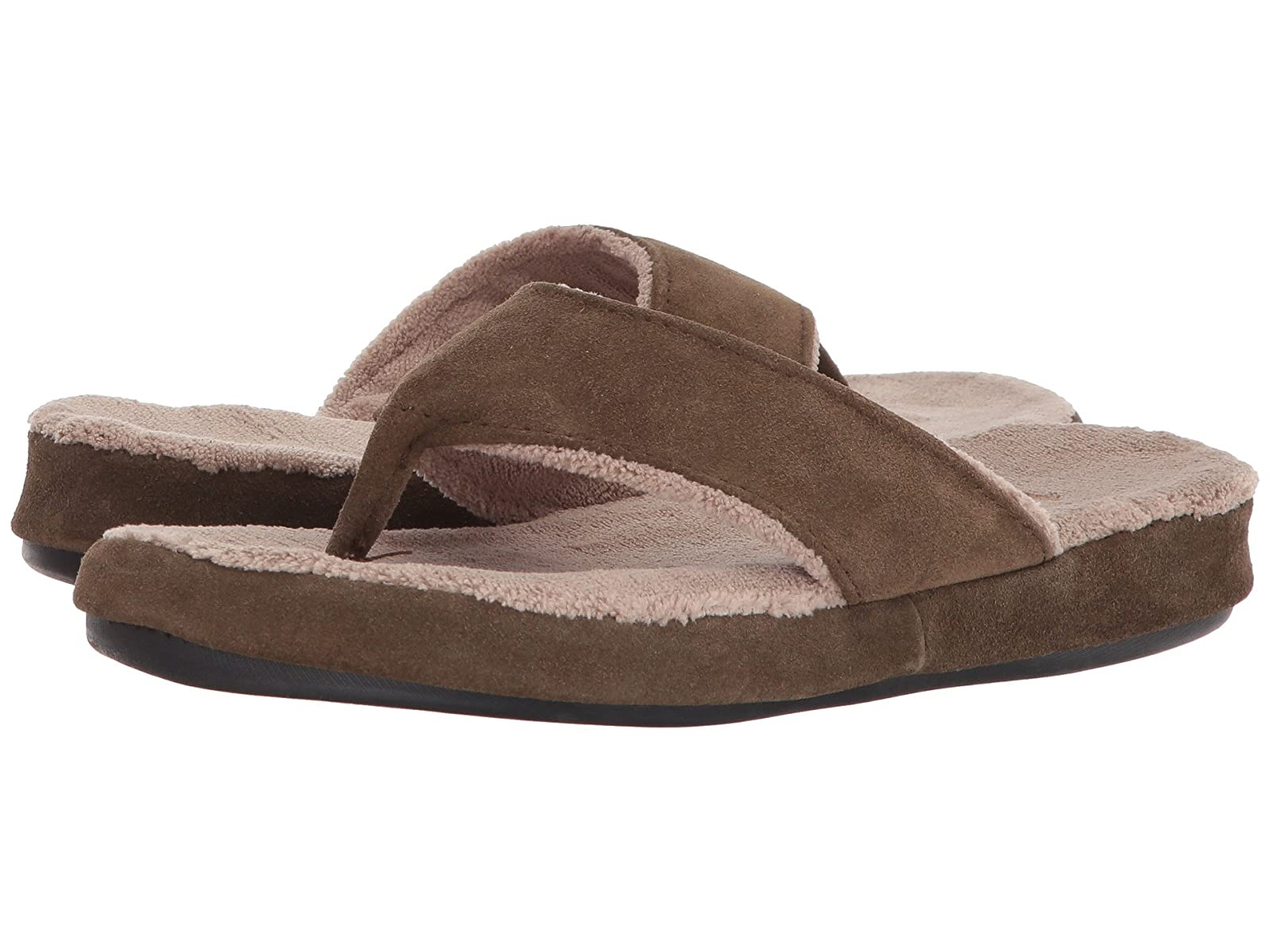 Acorn Suede Spa ThongAtmospheric grades have affordable shoes