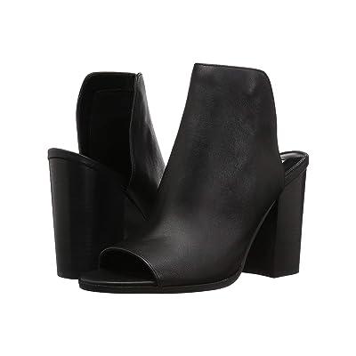Steve Madden Tilt Bootie (Black Leather) Women