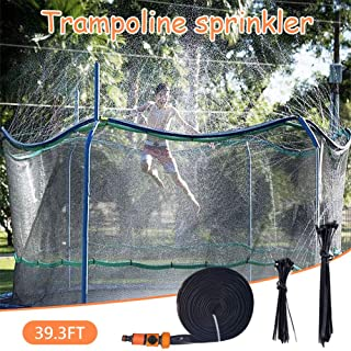 NORSENS Trampoline Sprinkler - Trampoline Accessories for Water Park - Boys Girls Fun Summer Outdoor Water Sprinkler Accessories - Outdoor Sprinklers for Yard 39.3 feet