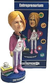 Entreprenurim Bobbleheads | Hand Painted Entrepreneur Bobblehead Figure | Unique Novelty Gift Idea | Premium BobbleHead Figurines for Office & Car | Motivational Dashboard, Decor & Desk Ornament
