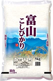 【精米】富山県産 白米 コシヒカリ 5kg 令和元年産
