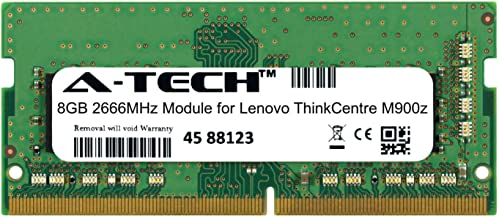 A-Tech 8GB Module for Lenovo ThinkCentre M900z Laptop & Notebook Compatible DDR4 2666Mhz Memory Ram (ATMS350497A25978X1)
