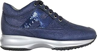 HOGAN Luxury Fashion Womens HXW00N05640LF5U805 Blue Sneakers | Fall Winter 19