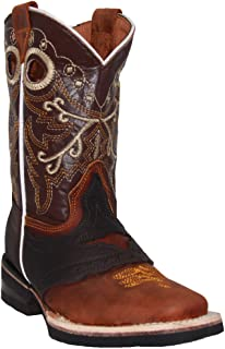 Boys Cowboy Boots Kids Western Square Toe Boot