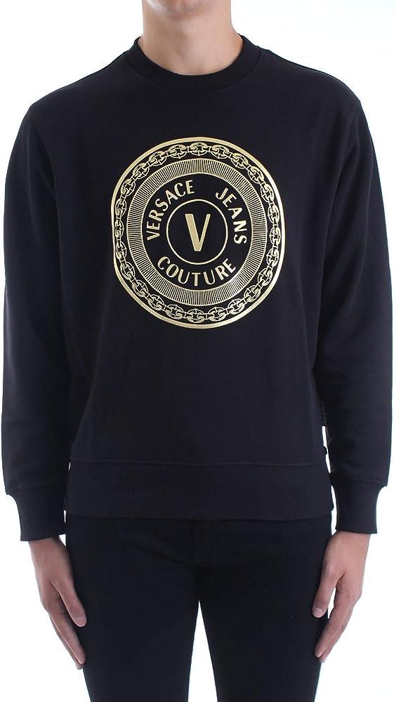 Versace jeans couture felpa uomo 100% cotone B7GZA7TX-ZUP302