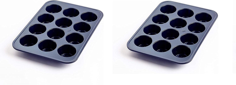 Blue Diamond Al sold out. Cookware Ceramic Nonstick Pan Regular discount Cup Twо Muffin 12