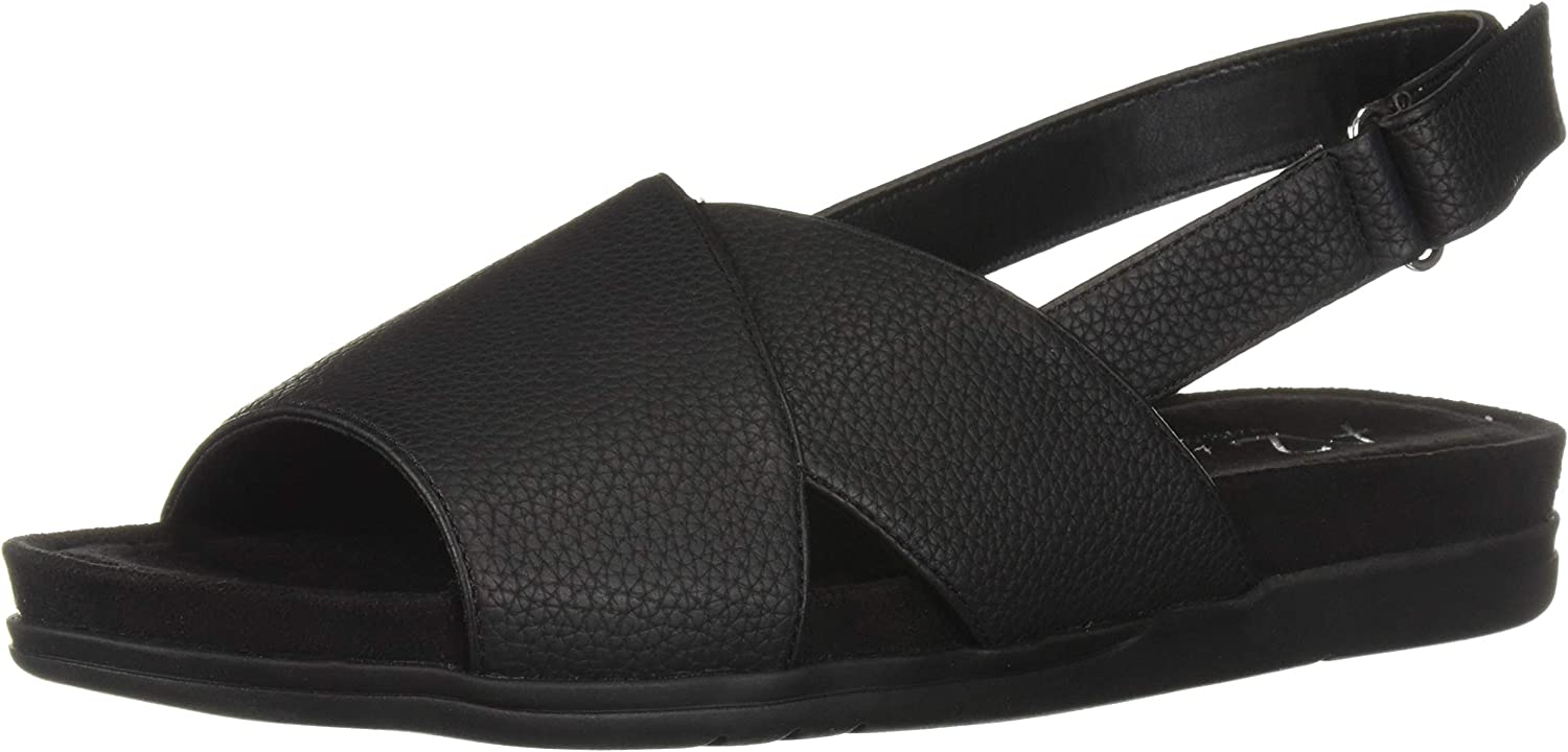 Aerosoles Womens Hour Long Flat Sandal