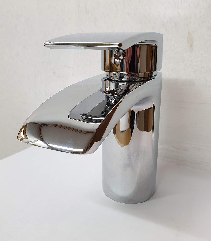 Bella Mono Sink Mixer c w Click Waste