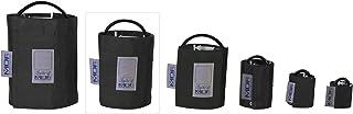MDF® Adulto grande - Un tubo Manguito sin látex para presión arterial - Negro (MDF2080461-11)