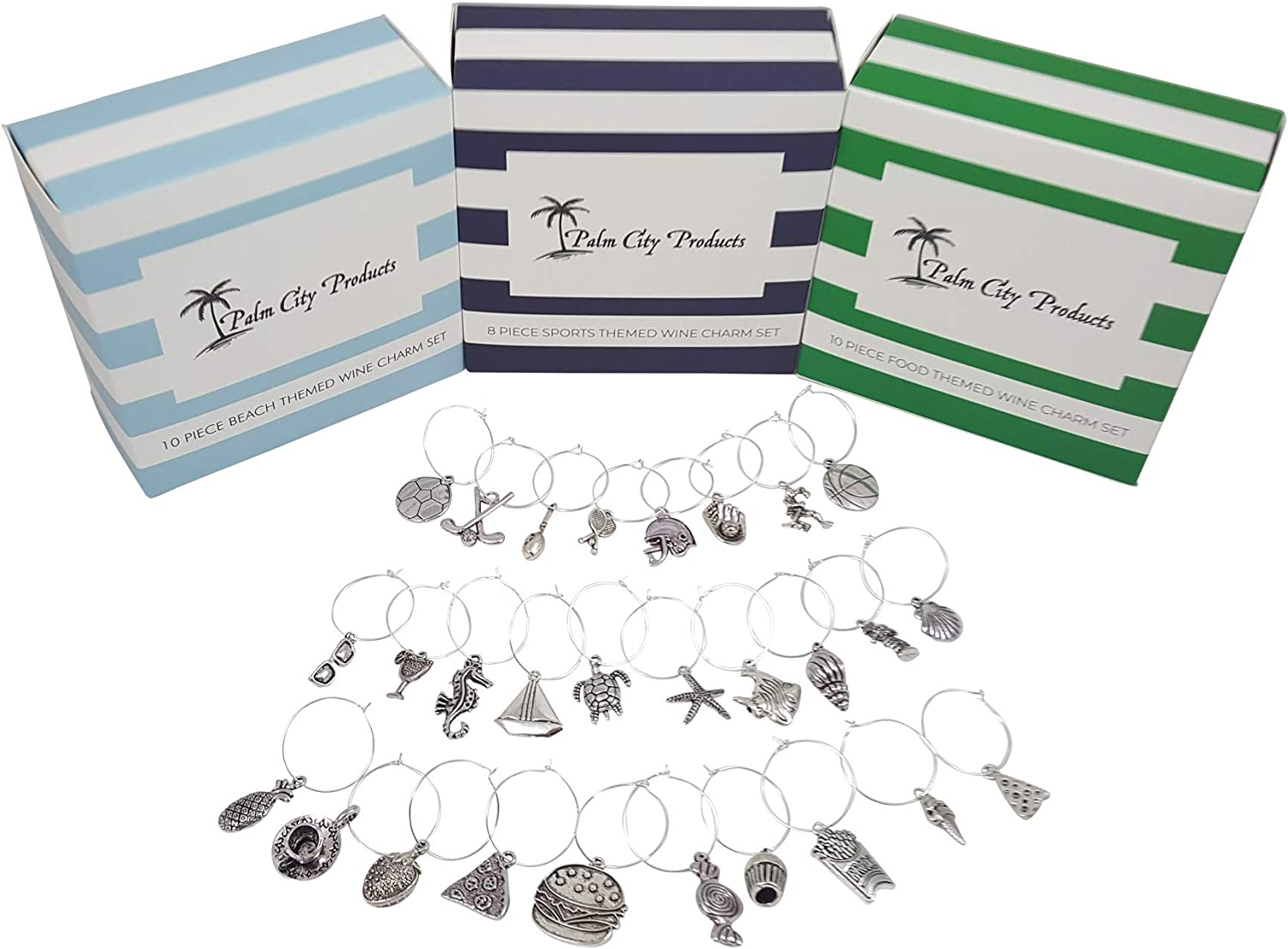 Food and Fun Wine Charm Bundled Minneapolis Mall Gift Spor Set Beach - Don't miss the campaign