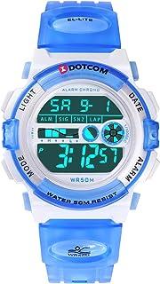 Kids Digital Watch Outdoor Sports 50M Waterproof Swimming...