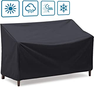 Onlyme Patio Bench Cover Waterproof 2/3/4 Seater, Sofa,Loveseat Cover (163x66x89cm (3 seater-420D))