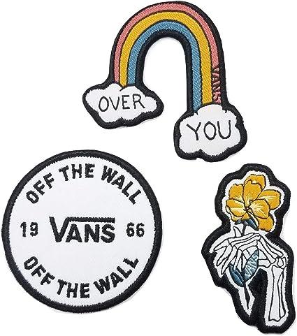 Vans off The Wall DIY toppa lavoro White Rainbow : Amazon.it: Fai ...