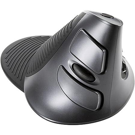 サンワサプライ ワイヤレスエルゴレーザーマウス MA-ERGW6