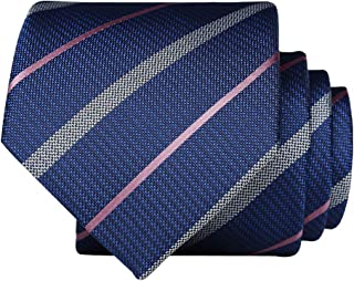 Skinny neckties For Men 【EVANHOME】 Trendy Men's Striped Tie Tie Knot 2.75 inches Gift Wrapping