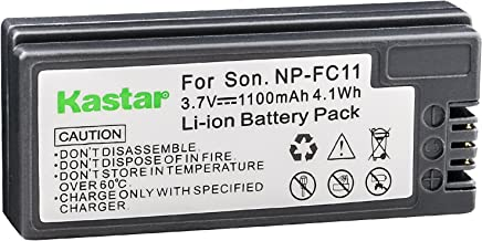 Kastar Rechargeable Battery Replacement for Sony NP-FC10, NP-FC11 and Sony Cyber-Shot DSC-P2, DSC-P3, DSC-P5, DSC-P7, DSC-P8, DSC-P9, DSC-P10, DSC-P12, DSC-F77, DSC-FX77, DSC-V1 Digital Camera