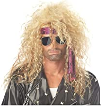 California Costume Collection - Heavy Metal Rocker Blonde Adult Wig