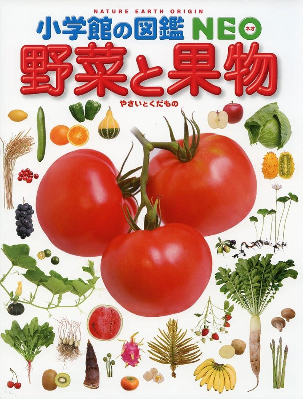 してはいけません出くわすアジア小学館の図鑑 NEO 野菜と果物