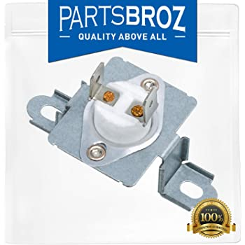DC96-00887A Thermal Fuse Assembly Bracket for Samsung Dryers by PartsBroz - Replaces Part Numbers AP5966894, DC96-00887C, WP35001193, AP6008689