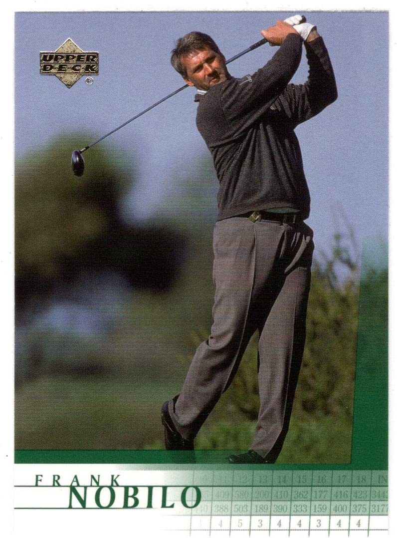Frank Nobilo RC Golf Card 2001 36 Super sale period limited Upper Deck Today's only # Mint