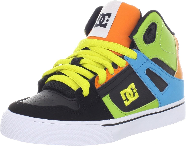 Little Kid//Big Kid DC Kids Spartan HI Skate Shoe