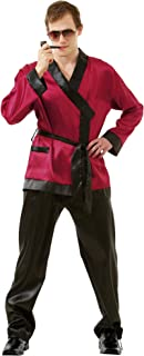 Men's Bunny Enthusiast Funny Halloween Costume | Adult Robe Outfit