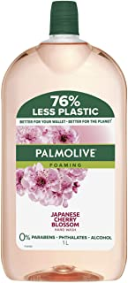 Palmolive Foaming Hand Wash Soap Japanese Cherry Blossom Refill and Save 0 percentage Parabens Dermatologically Tested Rec...