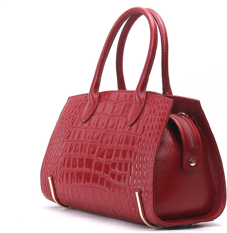 Contacts Women's Genuine Leather Crossbody Bag Messenger Shoulder Tote Handbag