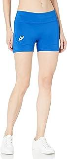 ASICS Club - Pantalones Cortos de Voleibol para Mujer (10,16