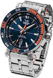 Vostok Europe - NH35A-575A279b Relojes Automáticos Relojes de Buceo Relojes de Cuerda Manual Relojes Mecánicos