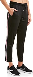 Athletic Works Women's Active Drawstring Sport Tricot Track Pant Jogger