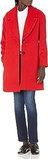 Lark & Ro Abrigo de Cuello Chal Abrigo de Lana para Mujer
